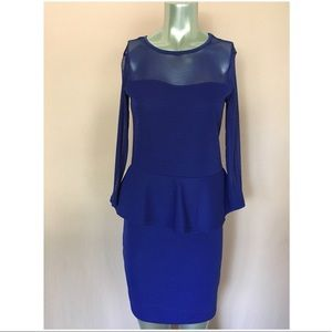 Poof Couture Blue Dress